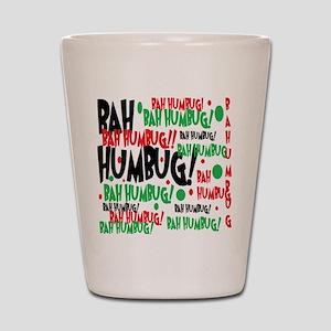 Bah Humbug Chr Shot Glass