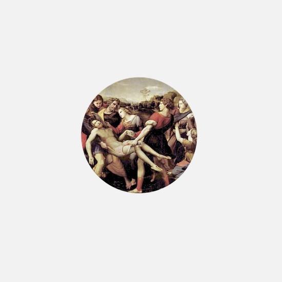 The Deposition - Raphael Mini Button