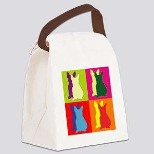 FRENCHIE Canvas Lunch Bag