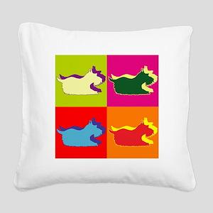 SCHNAUZER Square Canvas Pillow