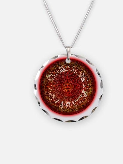 Mayan Calendar Sun Necklace