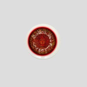 Mayan Calendar Sun Mini Button