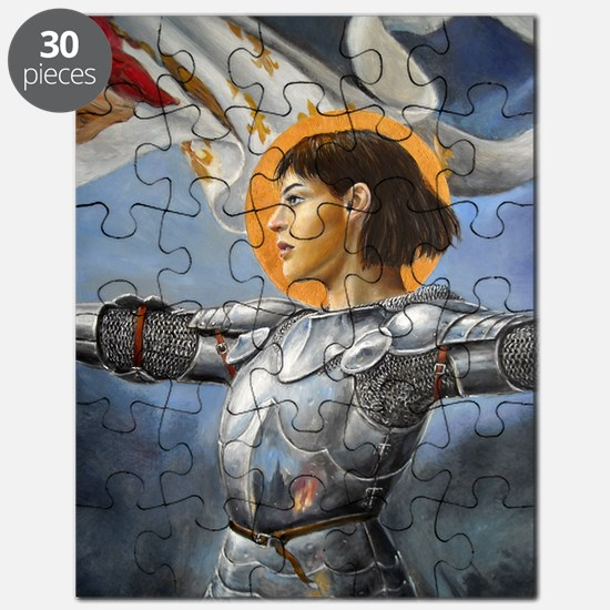 DSCN3888 joan of arc vertical det Puzzle