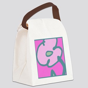 Pink Bloom for Tote Canvas Lunch Bag