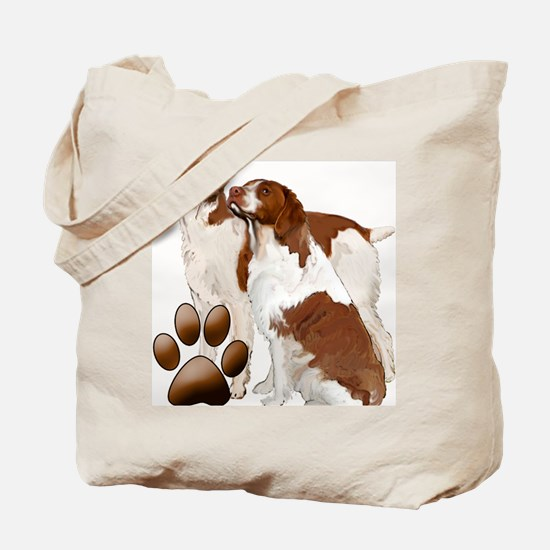 brittany spaniels2 Tote Bag