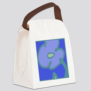 Blues Bloom for Tote Canvas Lunch Bag