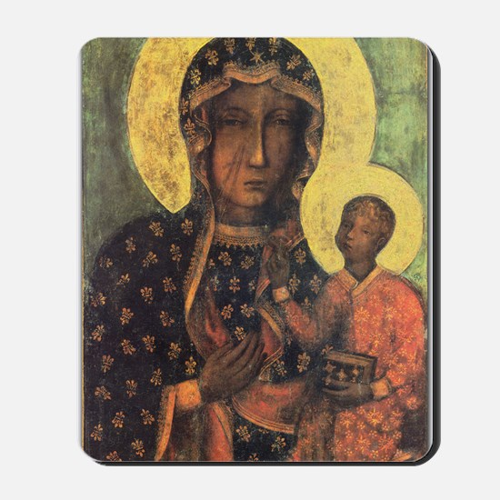 Our Lady of Czestochowa Mousepad
