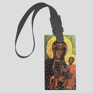 Our Lady of Czestochowa Large Luggage Tag