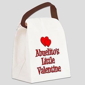 Abuelitos Little Valentine Canvas Lunch Bag