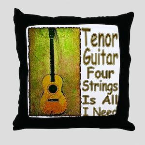 Tenor Throw Pillow