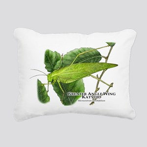 Greater Angle Wing Katyd Rectangular Canvas Pillow