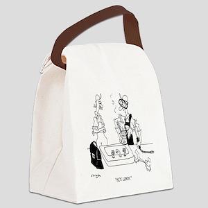6439_lunch_cartoon Canvas Lunch Bag