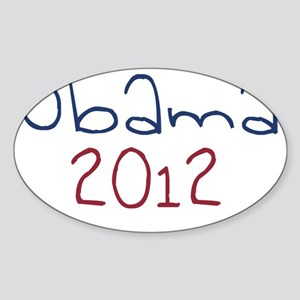 obama4 Sticker (Oval)