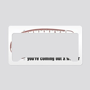 The French Curve Ruler Shirt License Plate Holder