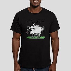 Surprised Sheep3 Men's Fitted T-Shirt (dark)
