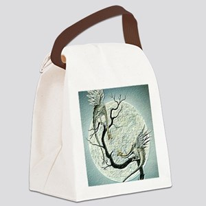 dragons in Japan style Canvas Lunch Bag