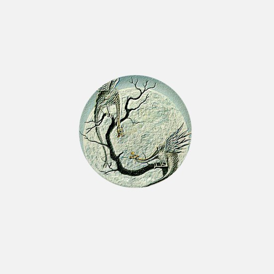 dragons in Japan style Mini Button