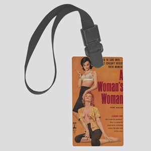 A Womans Woman-200 Large Luggage Tag