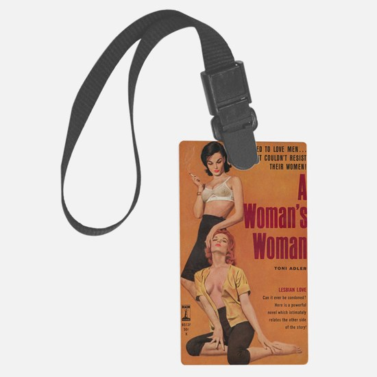 A Womans Woman-200 Luggage Tag