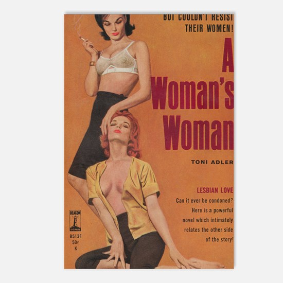 A Womans Woman-200 Postcards (Package of 8)