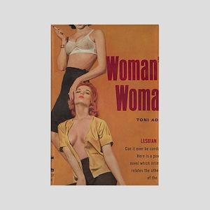 A Womans Woman-200 Rectangle Magnet