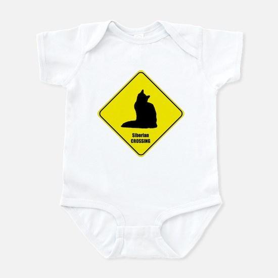 Siberian Crossing Infant Bodysuit
