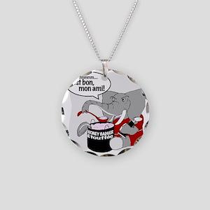 Bama.WORK Necklace Circle Charm