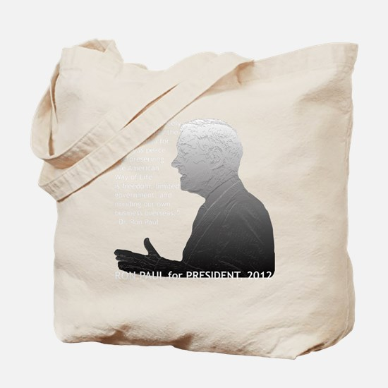 paul_outlinedimage_bw Tote Bag