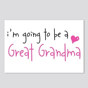 I'm going to be a Great Grandma Postcards (Package