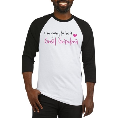 I'm going to be a Great Grandma Baseball Jersey