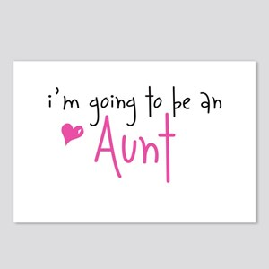 I'm going to be an Aunt Postcards (Package of 8)
