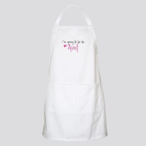 I'm going to be an Aunt BBQ Apron