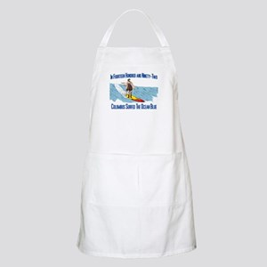 Columbus Surfed BBQ Apron