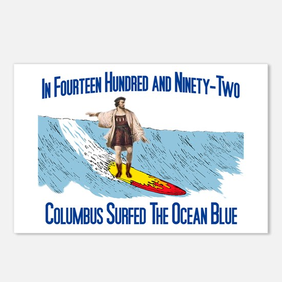 Columbus Surfed Postcards (Package of 8)