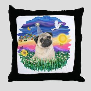 Twilight-Pug25 Throw Pillow