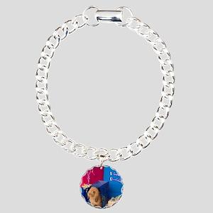 IMG_7731cardbday Charm Bracelet, One Charm