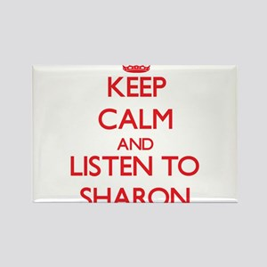 Keep Calm and listen to Sharon Magnets