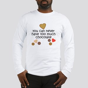 Chocolate Lover Long Sleeve T-Shirt