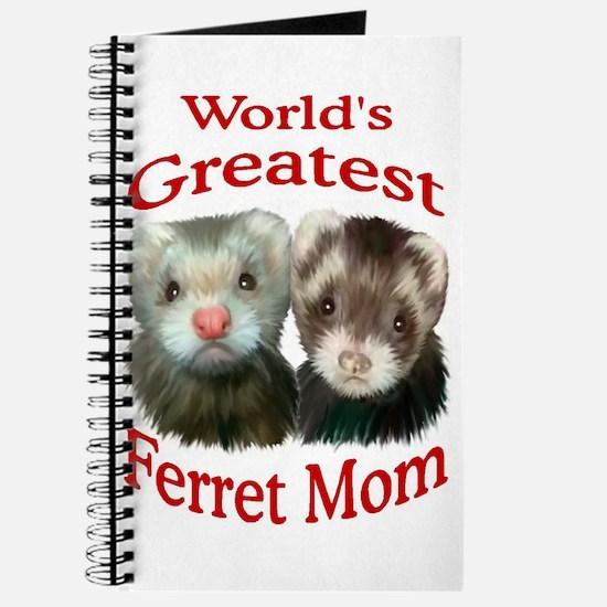World's Greatest Ferret Mom Journal