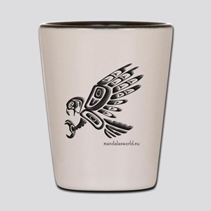 Amerindian Eagle n1 Shot Glass