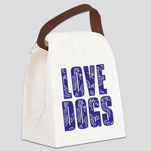 love-dogs-new-500 Canvas Lunch Bag