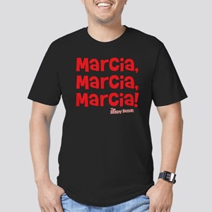 marcia-marcia-marcia Men's Fitted T-Shirt (dark)