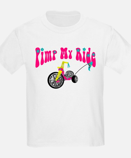 Pimp Her Ride Kids T-Shirt