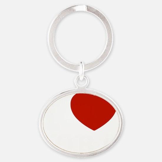 Cora1 Oval Keychain