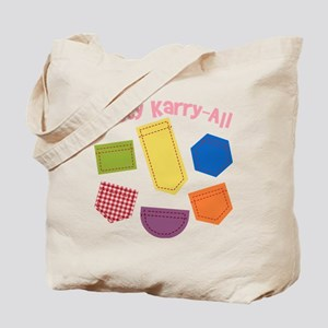 kitty-karry-all-patches Tote Bag