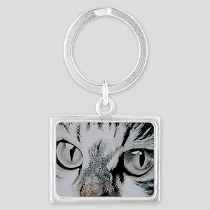 Cats Eyes Landscape Keychain