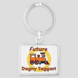 Future Dagny Taggart Landscape Keychain