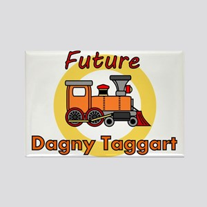 Future Dagny Taggart Rectangle Magnet