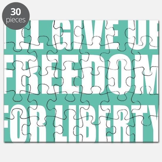 freedom impact blue darker Puzzle
