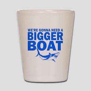 BiggerBoatJaws Shot Glass